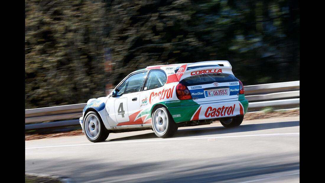 Toyota Corolla WRC, Heckansicht
