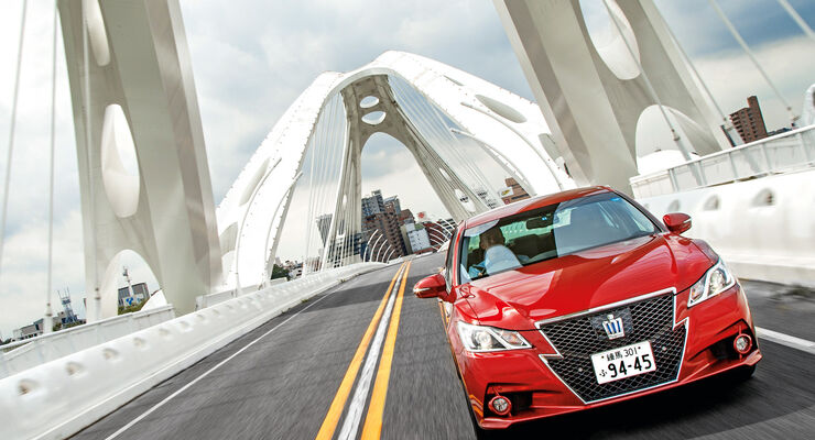Toyota Crown Athlete S Hybrid, Frontansicht