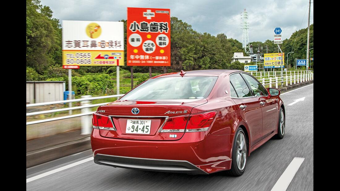 Toyota Crown Athlete S Hybrid, Heckansicht