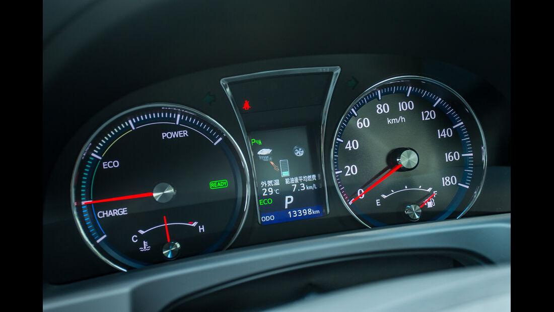 Toyota Crown Athlete S Hybrid, Rundinstrumente