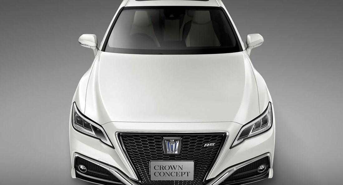 Toyota Crown Concept Tokio 2017
