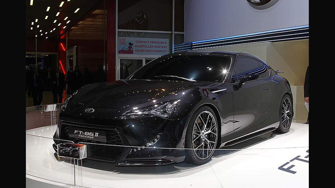 Toyota FT-86 II Concept Genf 2011