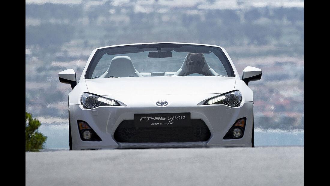 Toyota FT-86 Open Concept Cabrio