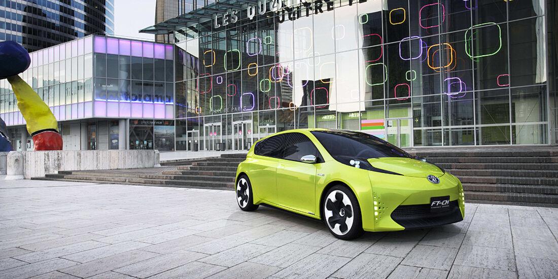 Toyota FT-CH Concept, Pariser Autosalon, Hybrid