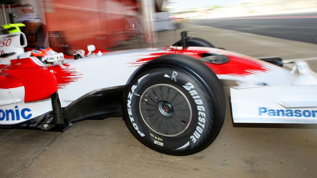 Toyota - Formel 1 - Radkappe - 2007