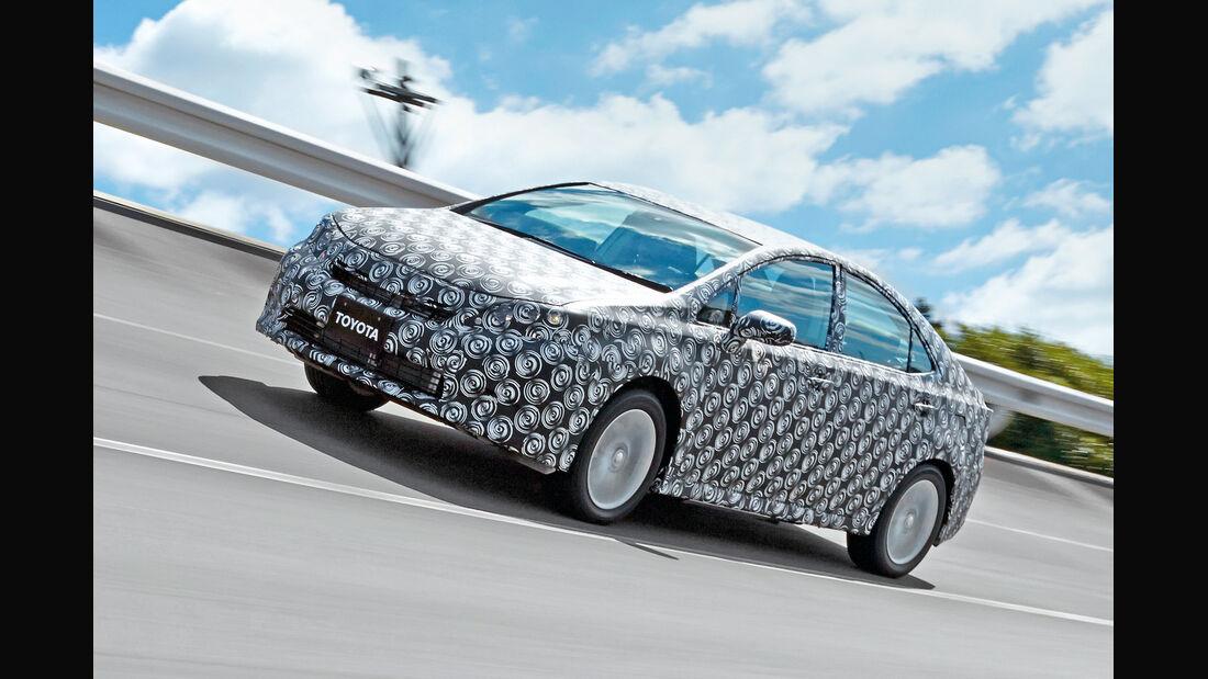 Toyota Fuel Cell Vehicle, Seitenansicht