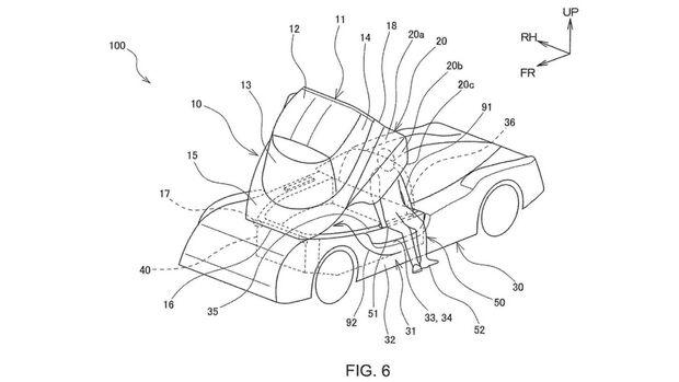 Toyota GR Super Sport Patentzeichnungen