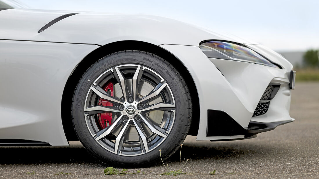 Toyota GR Supra, Exterieur