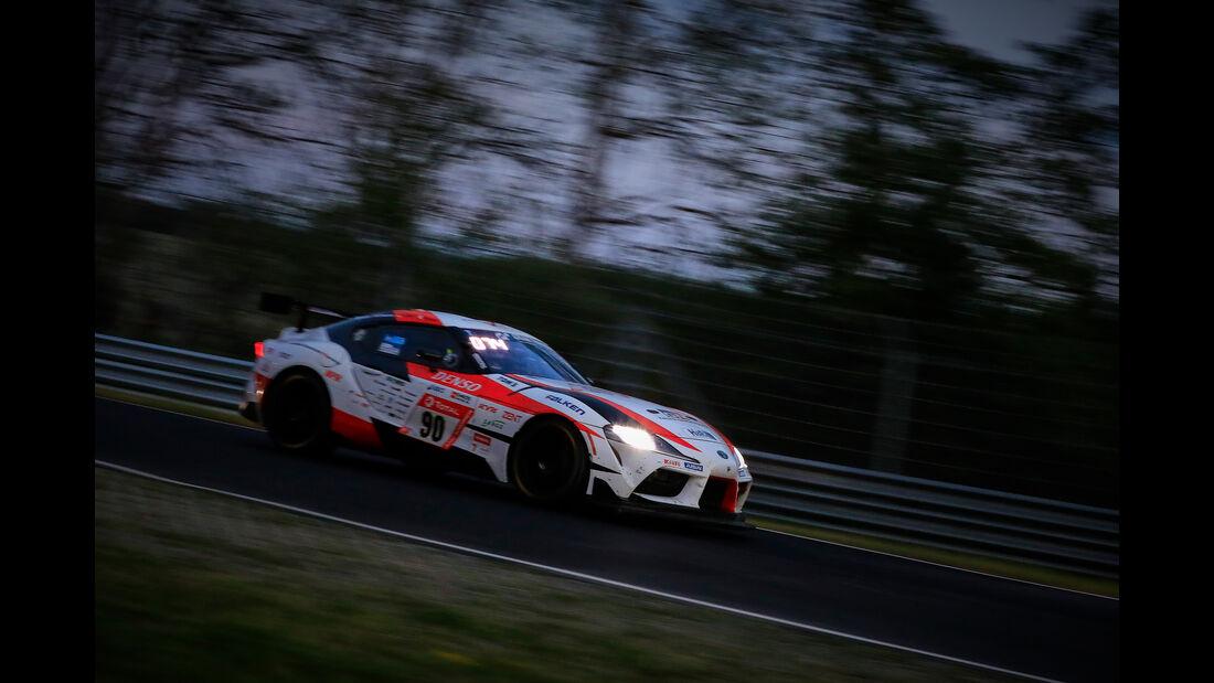 Toyota GR Supra - Startnummer #90 - 24h Rennen Nürburgring - 22. Juni 2019