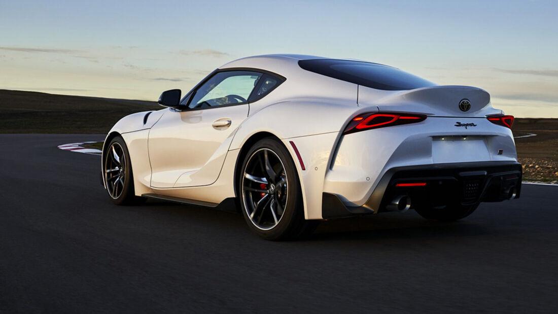 Toyota GR Supra USA Facelift 2021
