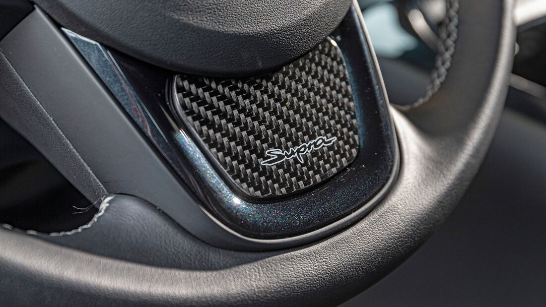 Toyota GR Supra von Japan Import, Lenkrad