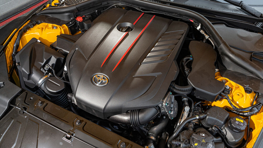 Toyota GR Supra von Japan Import, Motor