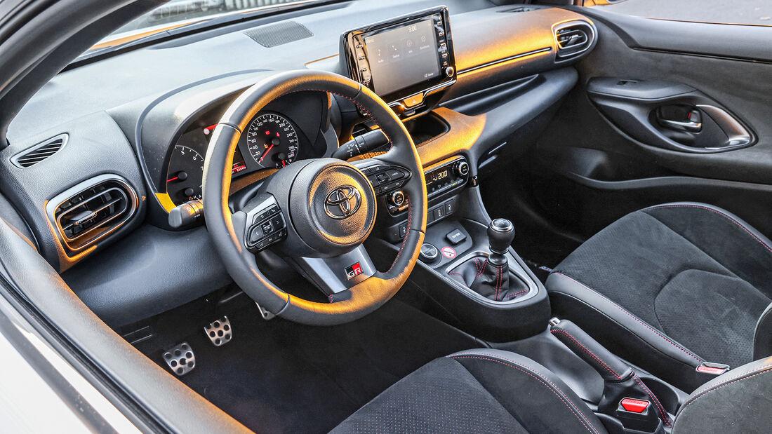 Toyota GR Yaris, Interieur