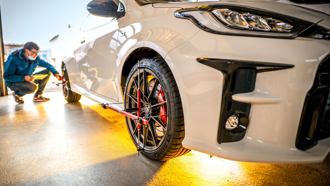Toyota GR Yaris, Leistungsmessung