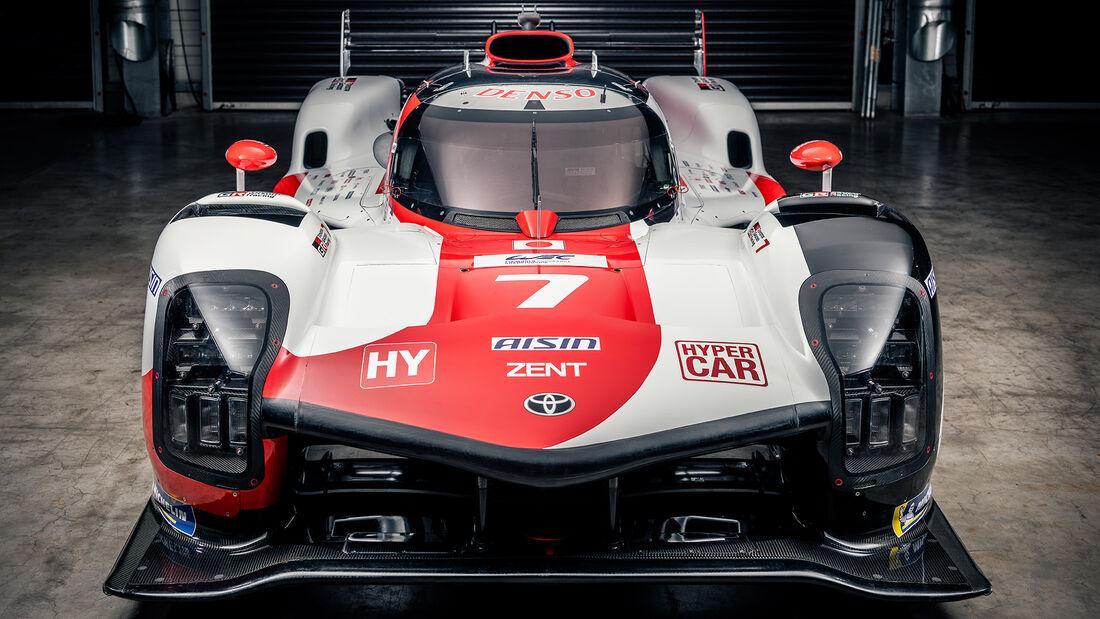 Toyota GR010 Hybrid - Hypercar - Rennwagen - WEC - Sportwagen-WM