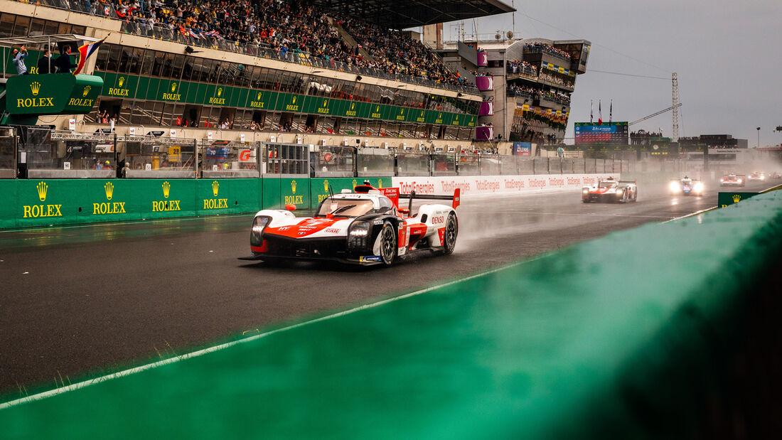 Toyota GR010 Hybrid - Startnummer #7 - 24h-Rennen Le Mans 2021