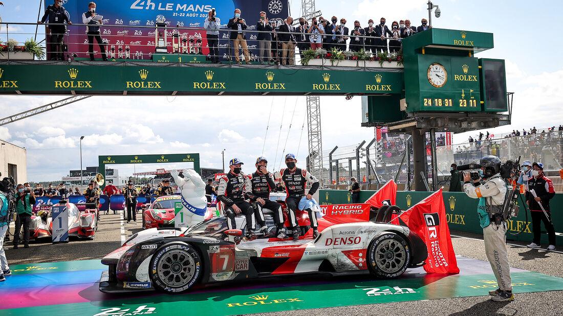 Toyota GR010 Hybrid - Startnummer #7 - Hypercar - 24h-Rennen Le Mans 2021