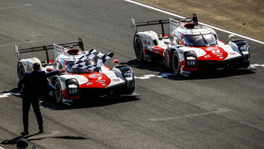 Toyota GR010 Hybrid - Startnummer #7 - Startnummer #8 - Hypercar - 24h-Rennen Le Mans 2021