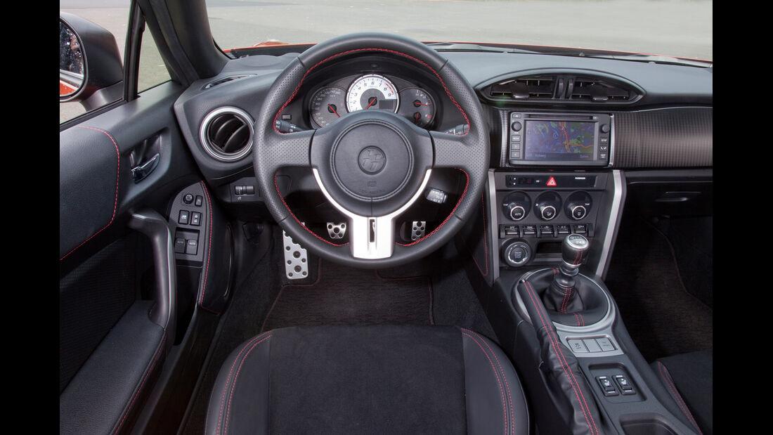 Toyota GT 86, Cockpit, Lenkrad