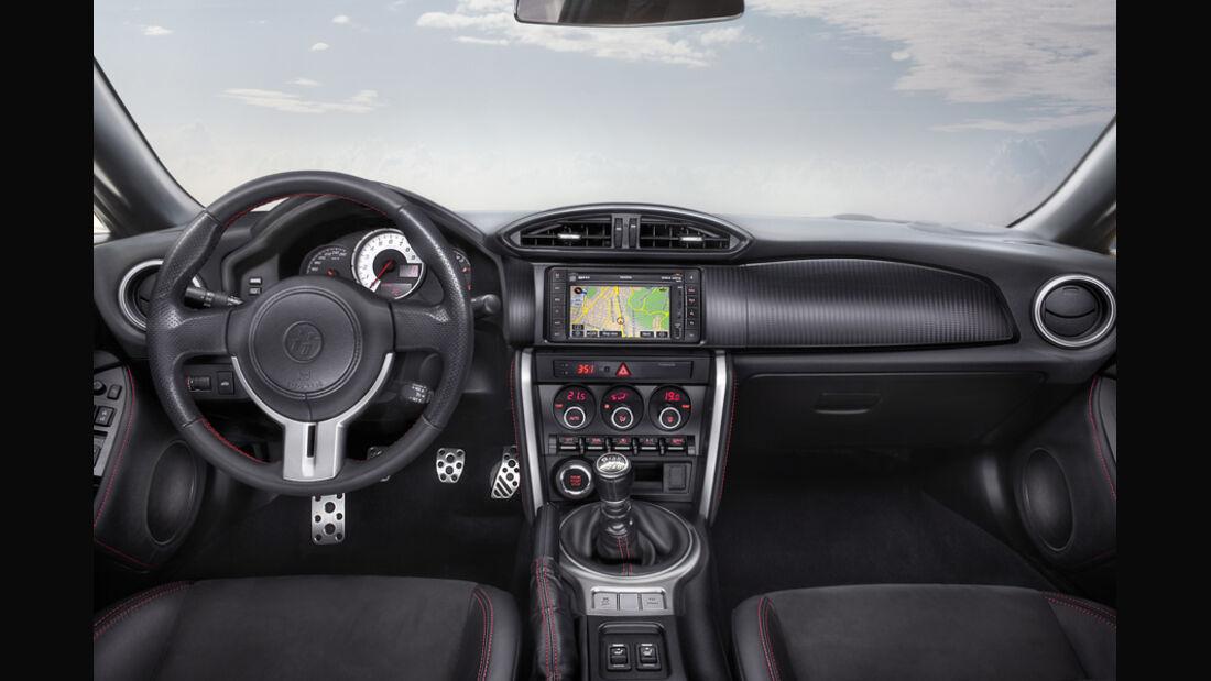 Toyota GT 86, Cockpit