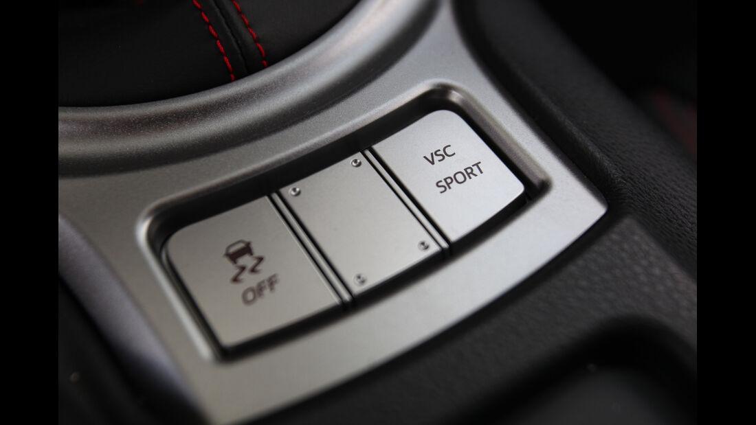 Toyota GT 86, Fahreinstellung