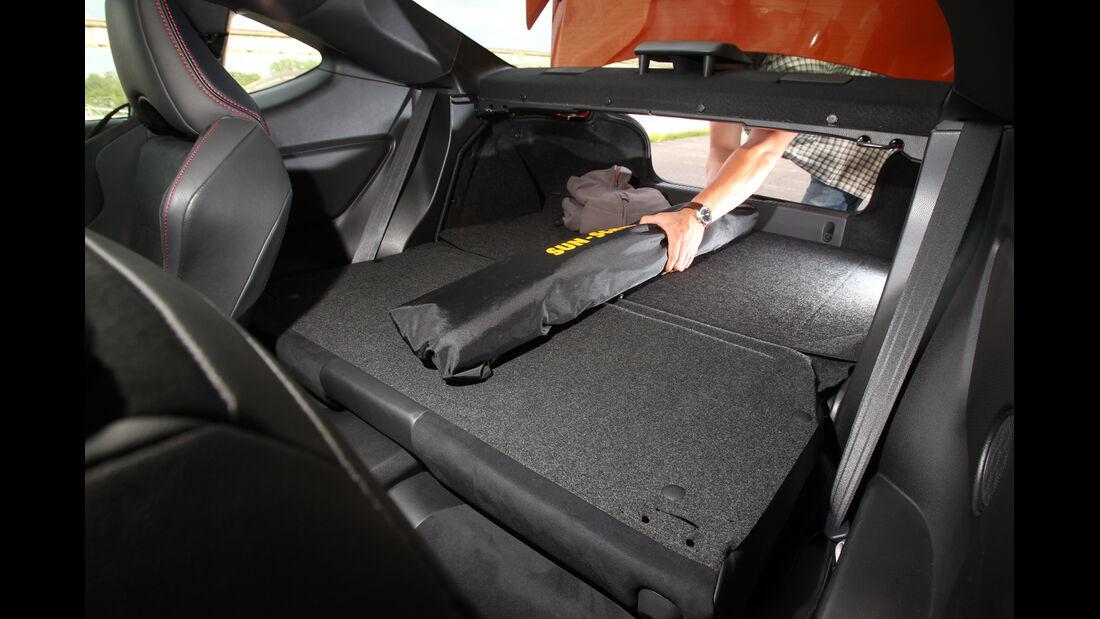 Toyota GT 86, Ladefläche