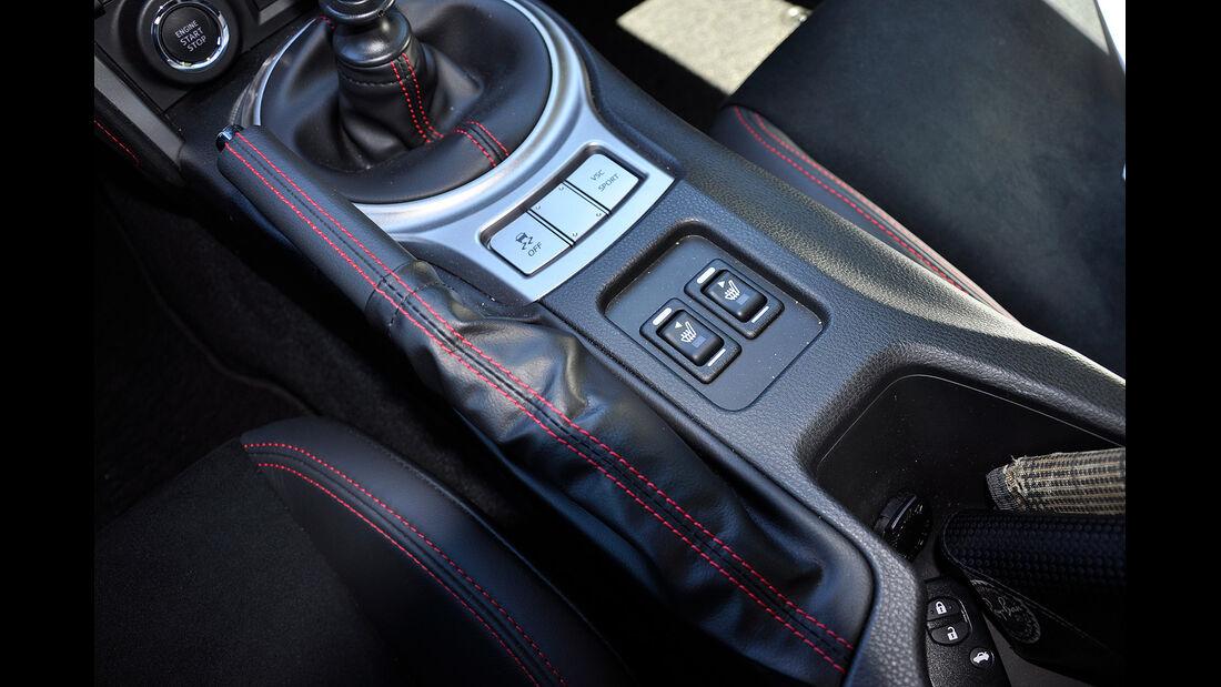 Toyota GT 86, Mittelkonsole, Sitzheizung