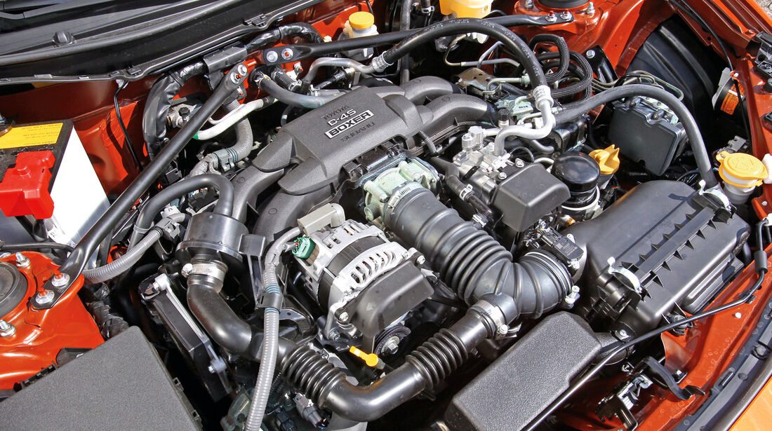 Toyota GT 86, Motor