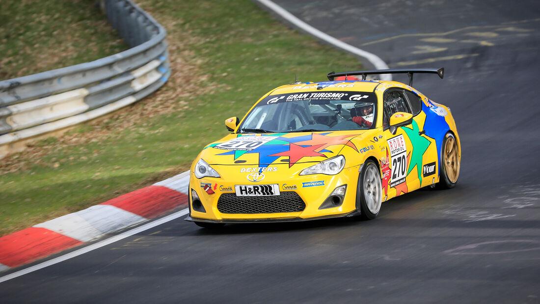 Toyota GT 86 - Startnummer #270 - Pit Lane - AMC Sankt Vith - SP3 - NLS 2021 - Langstreckenmeisterschaft - Nürburgring - Nordschleife