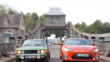Toyota GT 86, Toyota Celica, Frontansicht