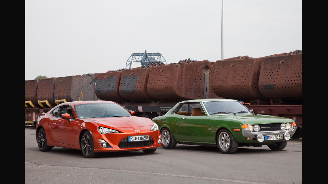 Toyota GT 86, Toyota Celica, Frontansicht