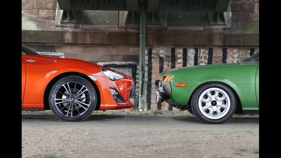Toyota GT 86, Toyota Celica, Motorhauben