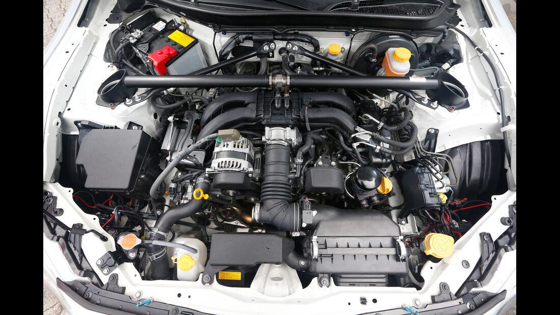 Toyota GT86 CS-V3, Motor