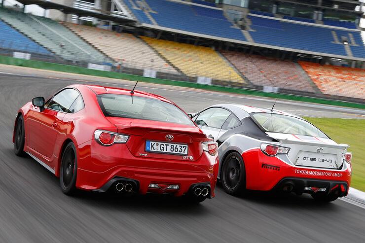 Toyota GT86 CS-V3 und GT86 TRD - auto motor und sport