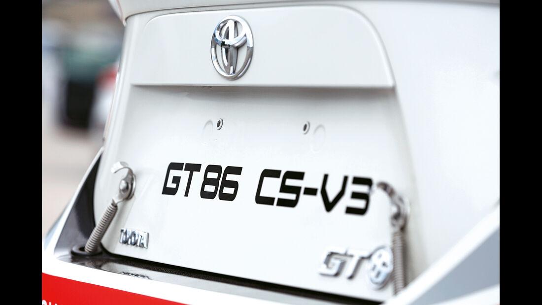 Toyota GT86 CS-V3, Typenbezeichnung