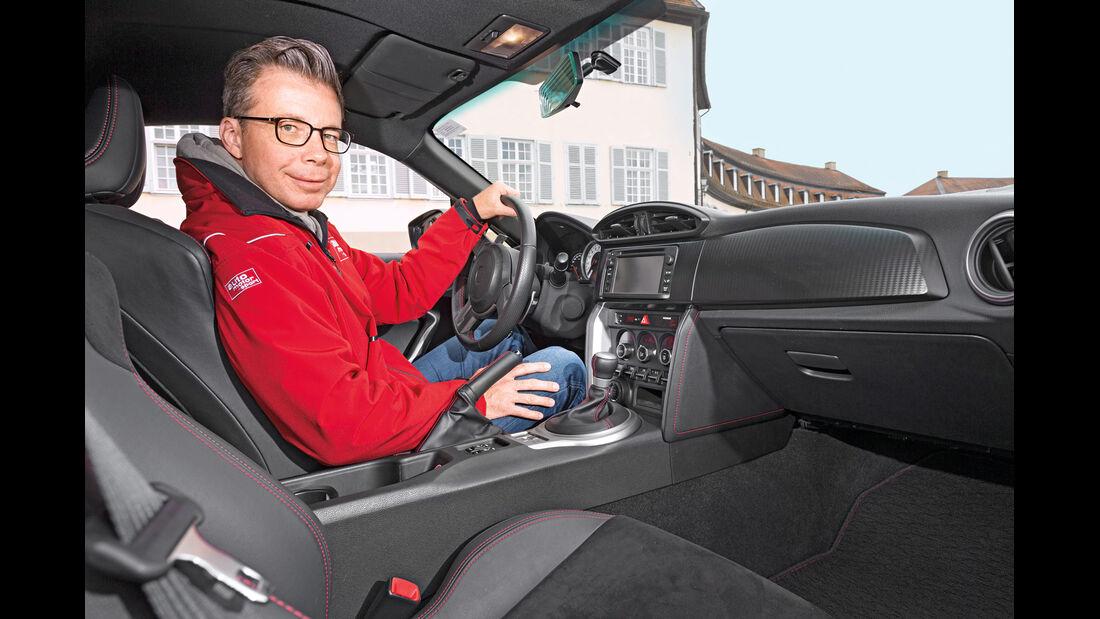 Toyota GT86, , Cockpit, Dirk Gulde