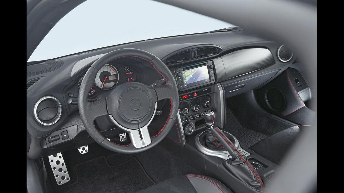 Toyota GT86, Cockpit, Lenkrad