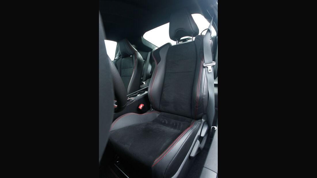 Toyota GT86, Fahrersitz