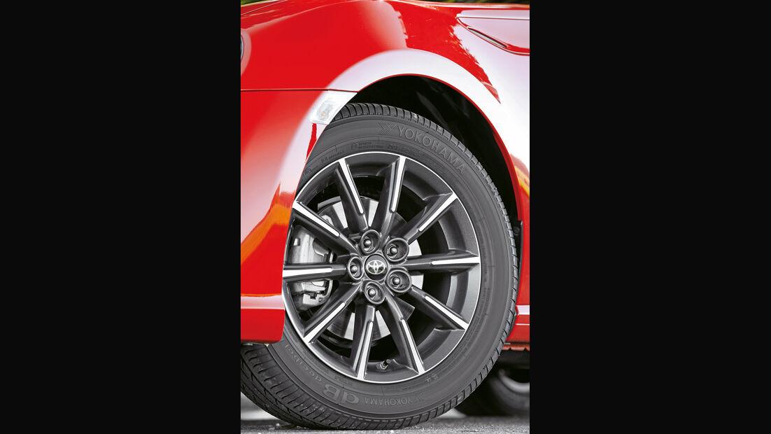 Toyota GT86 Pure, Rad, Felge