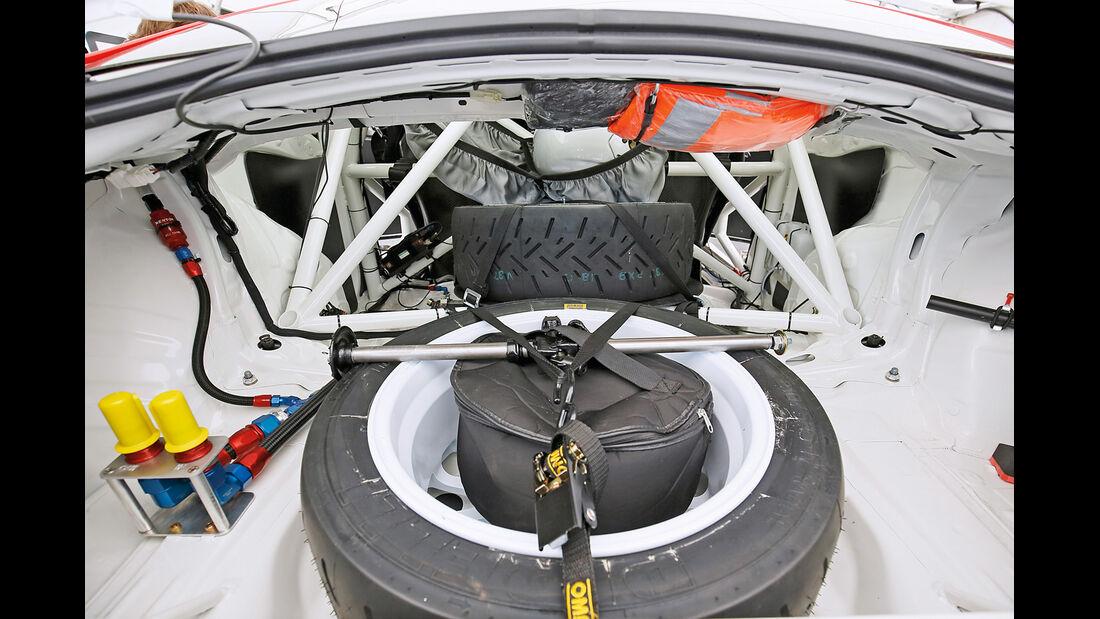 Toyota GT86 R3, Ersatzrad