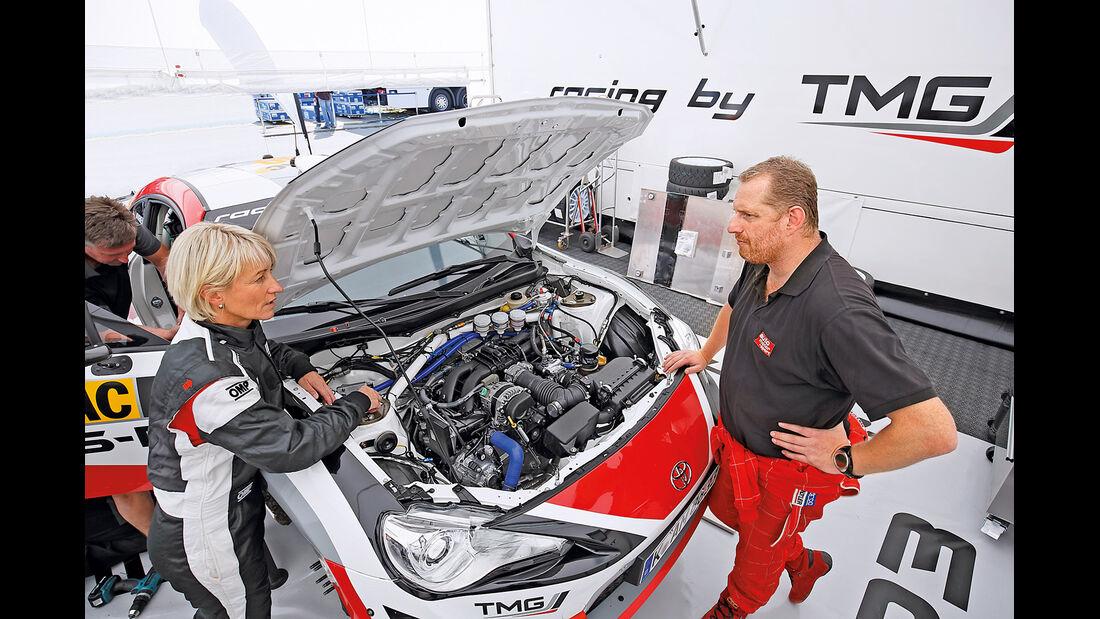 Toyota GT86 R3, Motor