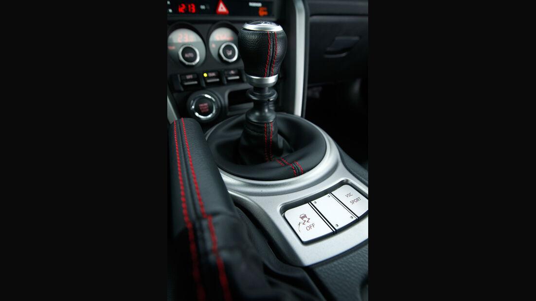 Toyota GT86, Schalthebel, Schaltknauf