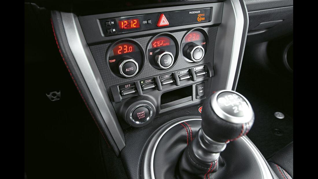 Toyota GT86, Schalthebel, Schaltknauf, Mittelkonsole
