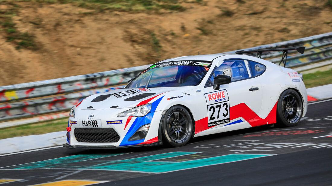 Toyota GT86 - Startnummer #273 - Team 9 und 11 - SP3 - NLS 2020 - Langstreckenmeisterschaft - Nürburgring - Nordschleife