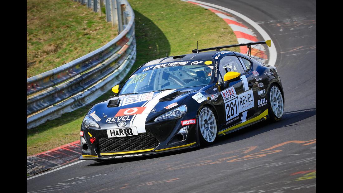 Toyota GT86 - Startnummer #281 - SP3 - VLN 2019 - Langstreckenmeisterschaft - Nürburgring - Nordschleife