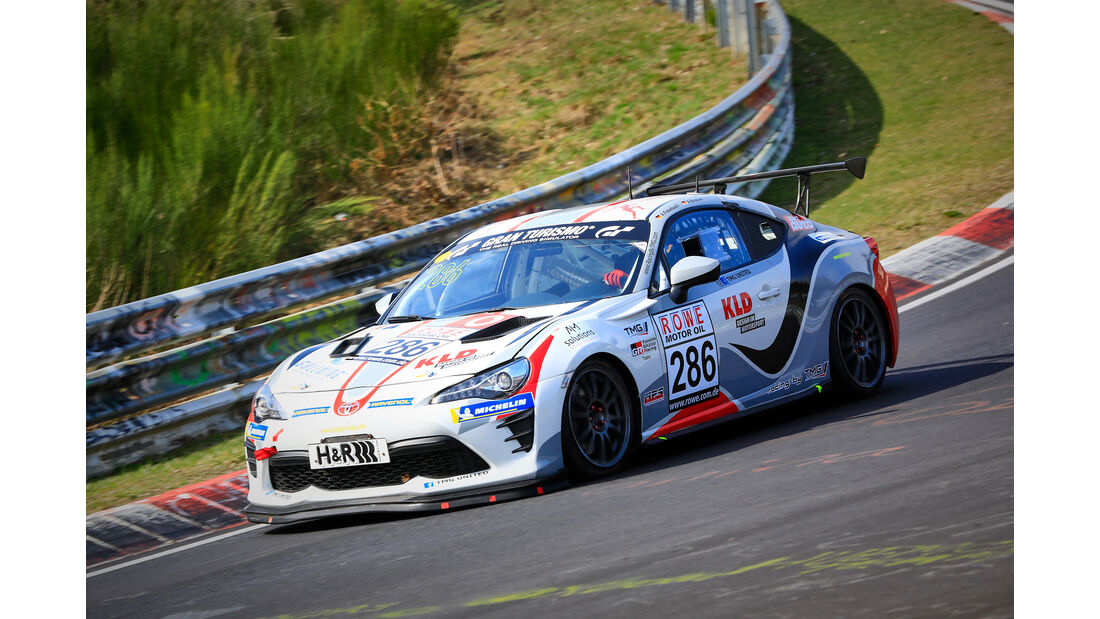 Toyota GT86 - Startnummer #286 - TMG United - SP3 - VLN 2019 - Langstreckenmeisterschaft - Nürburgring - Nordschleife