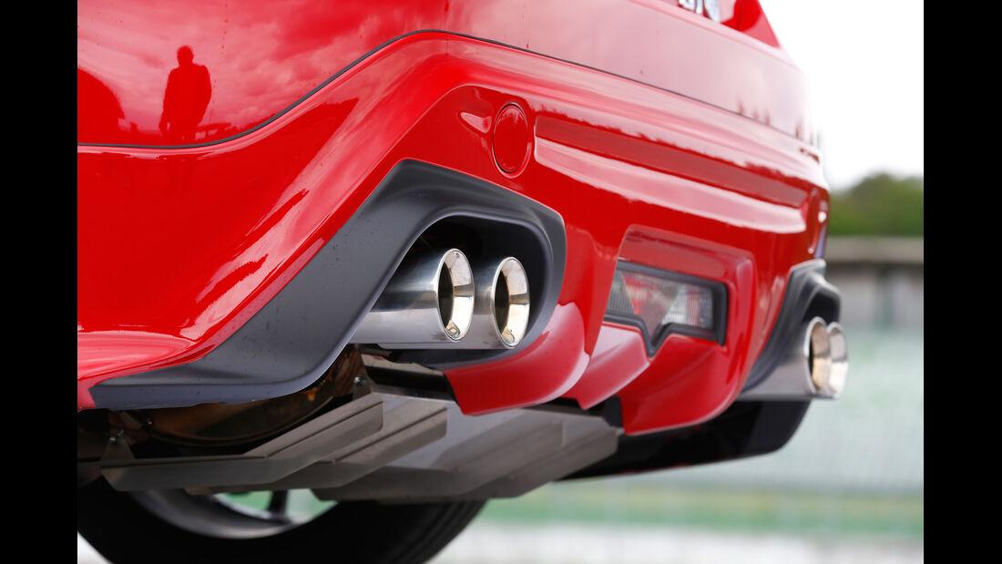 Toyota GT86 TRD, Auspuff, Endrohr
