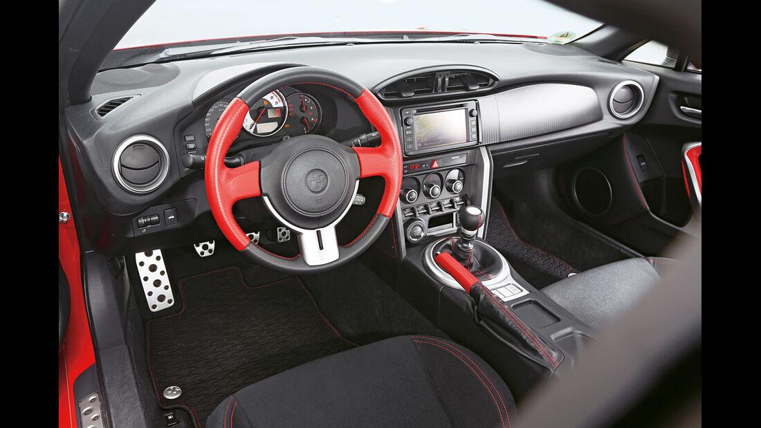 Toyota GT86 TRD, Cockpit