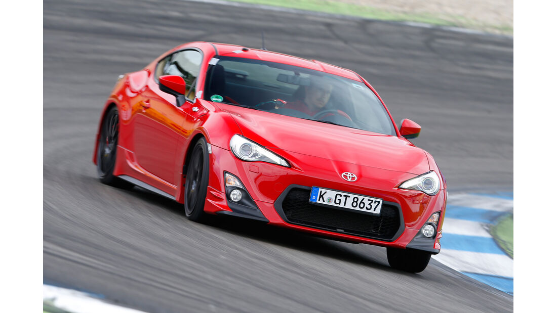 Toyota GT86 TRD, Frontansicht