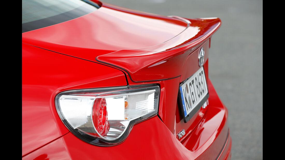 Toyota GT86 TRD, Heckspoiler